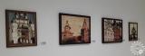 """Выставка репродукций Н.К.Рериха """"Из древних чудесных камней сложите ступени грядущего..."""" Лиозненский военно-исторический музей, г. Лиозно, 2018 г."""